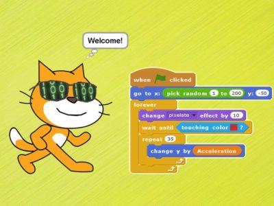 Scratch programming.