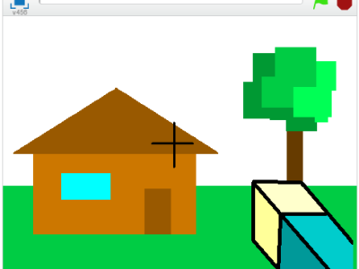 Minecraft on Scratch.