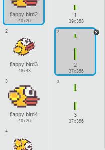 e Flappy Bird On Scratch 2.0
