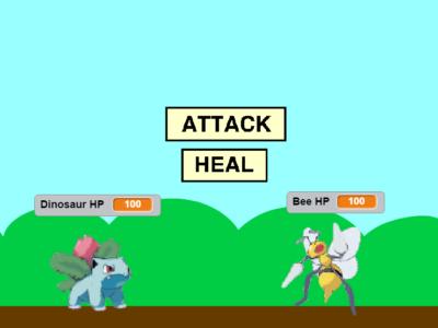 Make a Pokemon Scratch game
